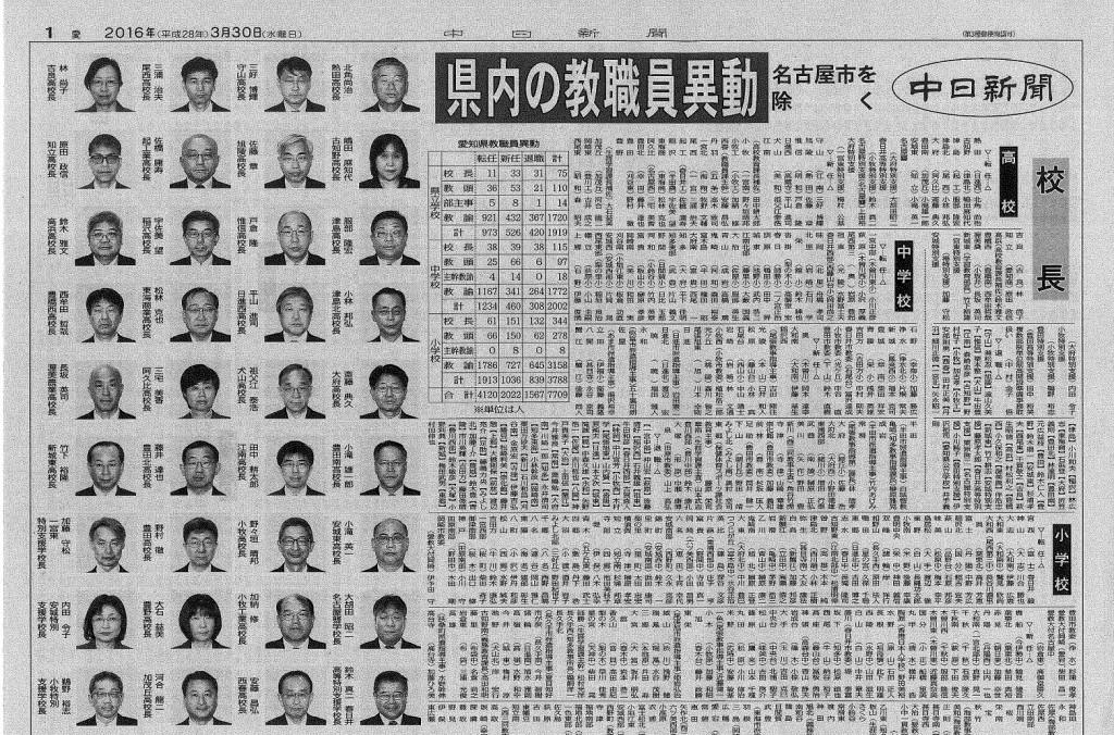 香川 県 教職員 異動
